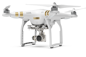 DJI Phanthom 4 drone med 4K video